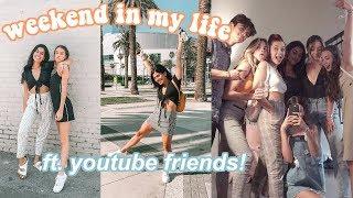 LA Weekend In My Life ft. YouTube Friends