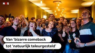 """Reacties politici op exitpoll: """"Pro-Europese partijen hebben gewonnen"""""""