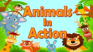 Animals In Action Brain Body Builders Exercise Fitness For Kids Jack Hartmann