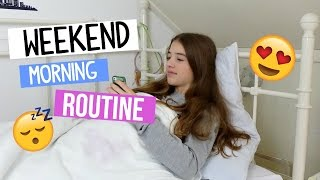 Weekend Morning Routine 2016! | BeautyDress
