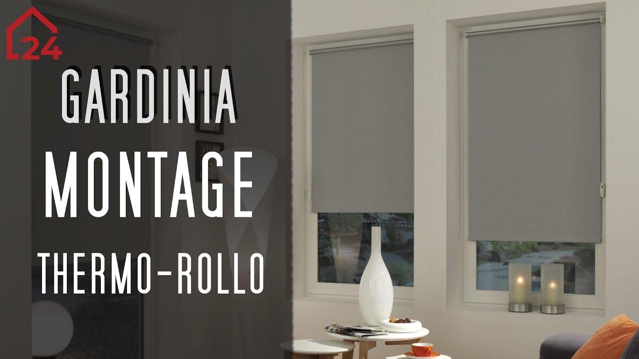 Berühmt Gardinia Easyfix Thermo-Rollo 🔧 Montagevideo ⚙️Einfache Montage IA06