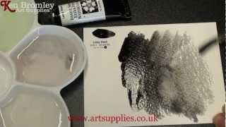 Daniel Smith Extra Fine Watercolour Lamp Black 003 Series 1