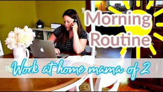 MORNING ROUTINE AS A WORK FROM HOME MAMA | 1k GIVEAWAY *CLOSED* | WAHM DITL | MAMAS TIMEOUT