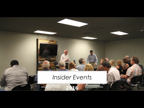 Insider Events | 2016 Reel | V2A Solutions