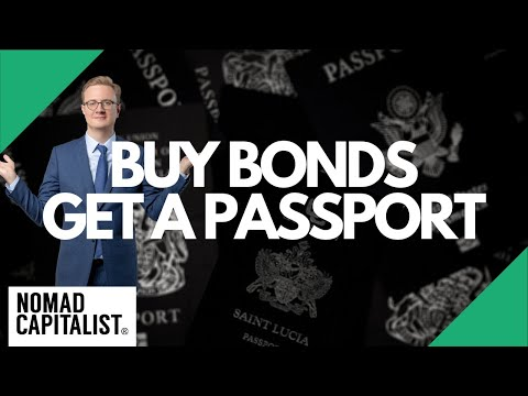 8 Second Passports and Residences by Investing in Bonds
