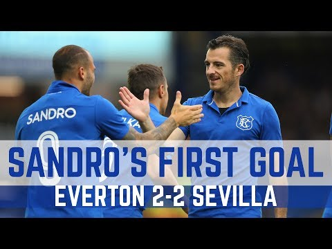 SANDRO RAMIREZ SCORES HIS FIRST EVERTON GOAL...AFTER JUST 30 SECONDS!