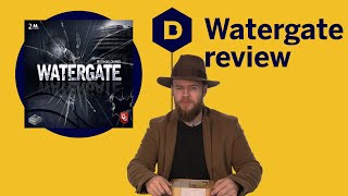 Watergate Board Game Review - A battle of wits and information