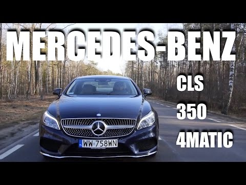 (ENG) Mercedes-Benz CLS 2014 350 BLUETEC 4MATIC - Test Drive and Review