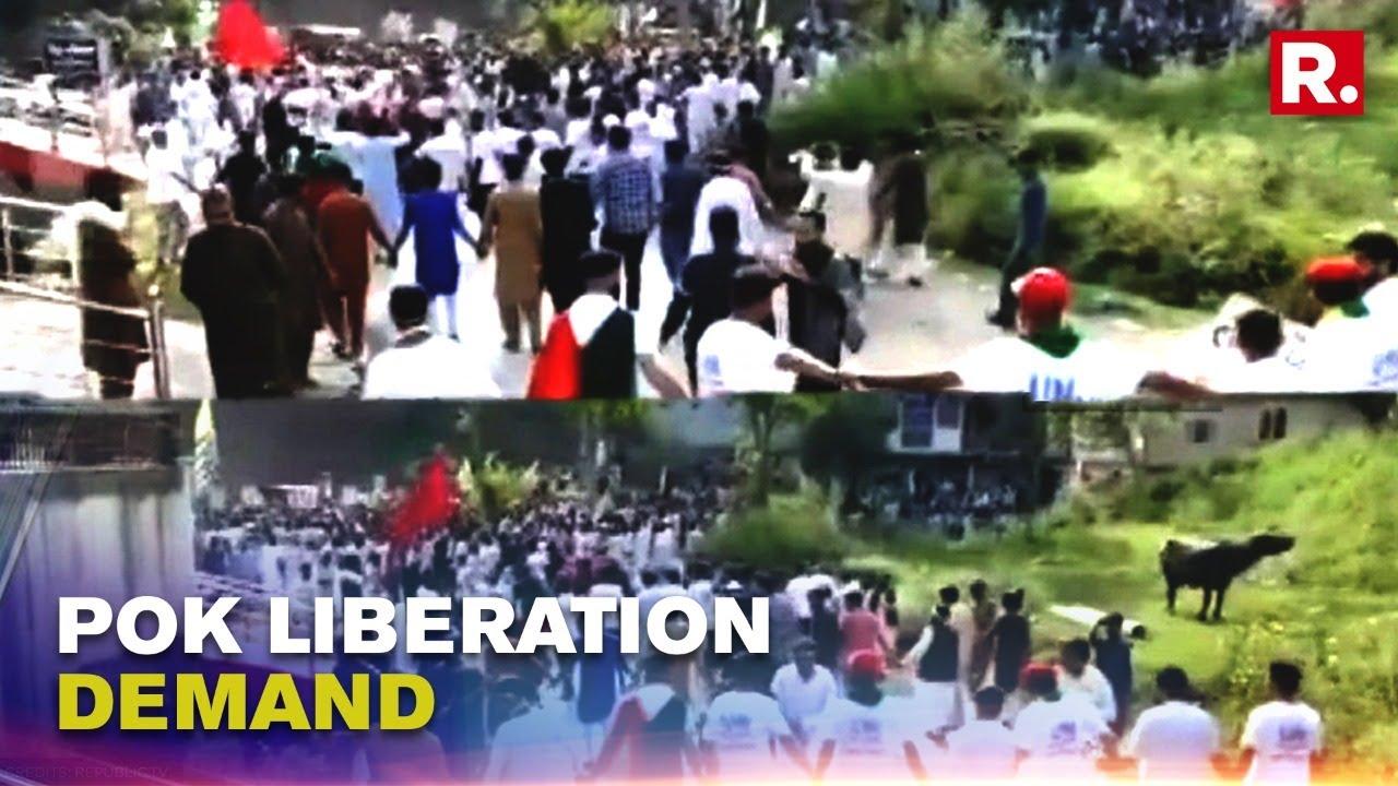 Download Pakistan: Civilians In Pok Take Out Massive Protest Alleging Second-Class Treatment   Republic TV