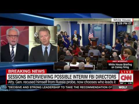 "Sen. Rand Paul on CNN's ""Wolf"" - May 10, 2017"
