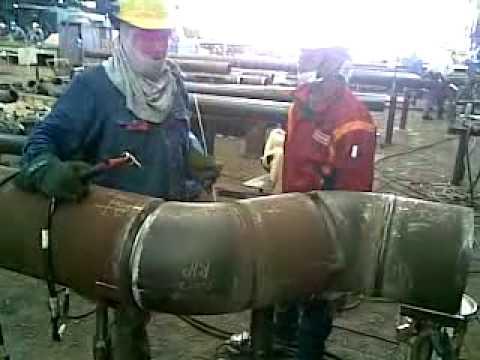 Welder Malaysia Low temp 12inch bunga kelana shiprepair