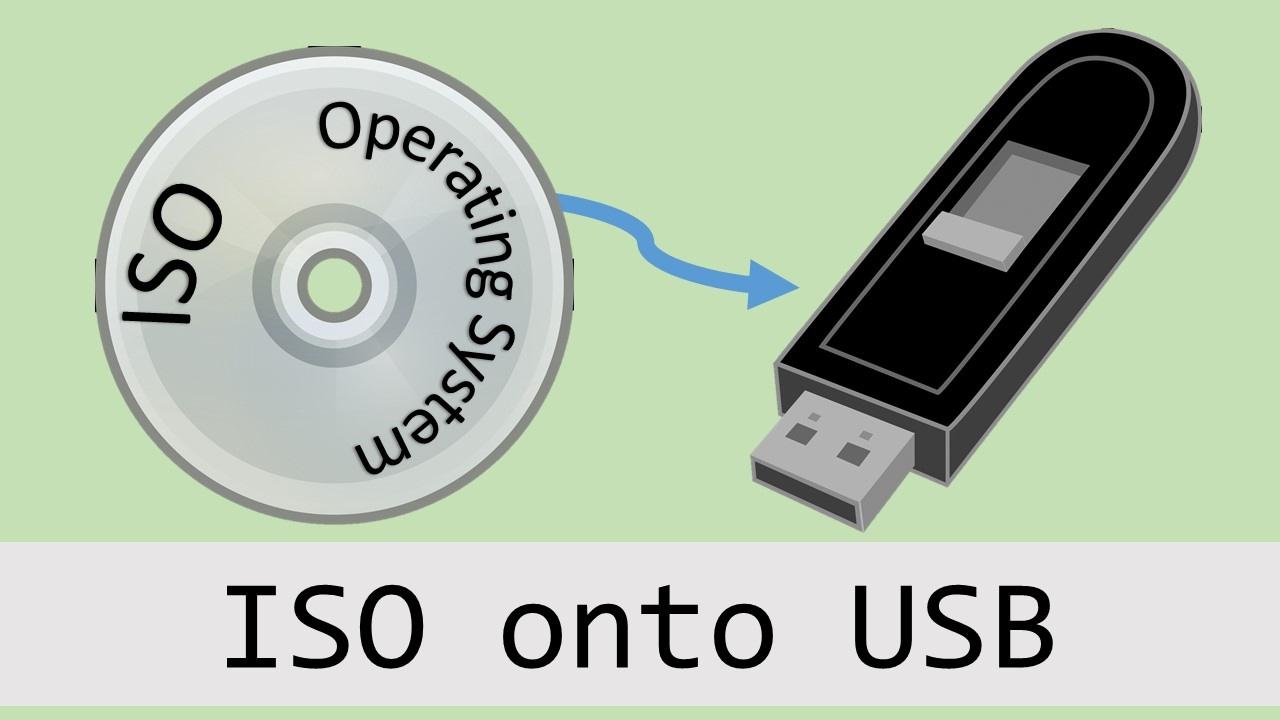 Burn an ISO Onto a USB Drive - Create a Linux Installer