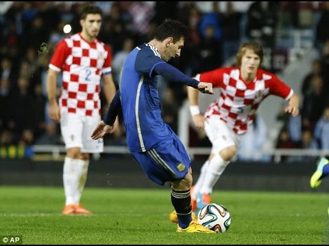 Argentina Vs Croatia   All Goals Highlights Friendly Match  Hd