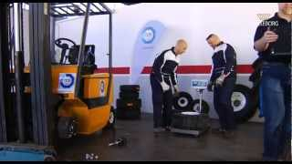 Trelleborg Industrial tires, tread wear performance