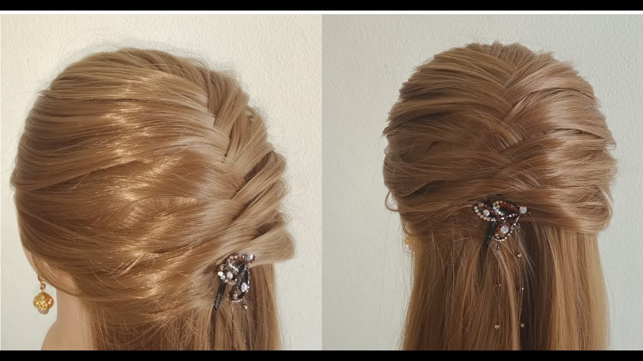 Diwali Special Hairstyle Simple Hairstyle For Wedding Occasion