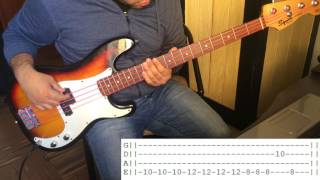 Dosed (Red Hot Chili Peppers) | Bass cover with Tabs