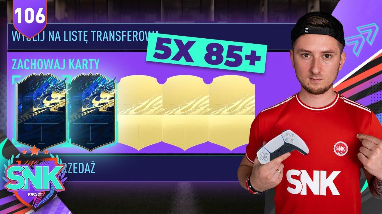 NOWA PACZKA 5x85+ [#106] | FIFA 21 ULTIMATE TEAM