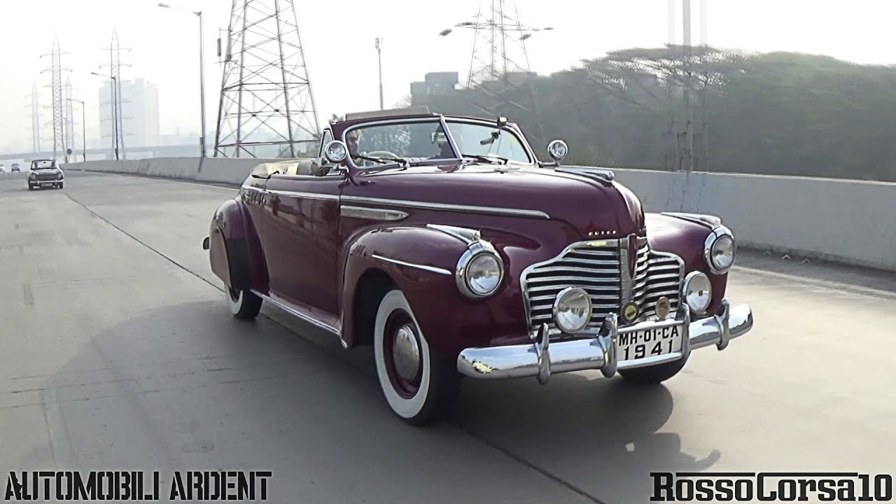 Mumbai Classic Car Drive Jan Youtube