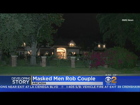 Arcadia Couple Tied Up, Robbed By Masked Men