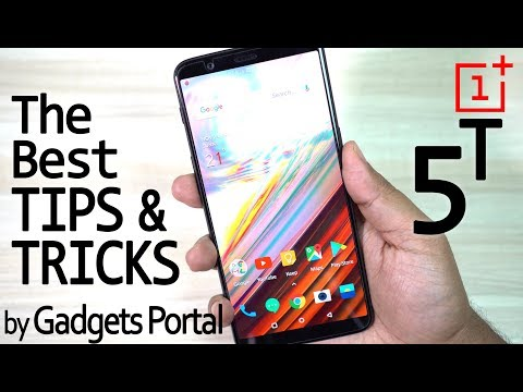 OnePlus 5T - Most Awesome TIPS & TRICKS & Hidden Features #1/3 😱😱