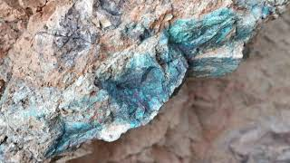 Chrysocolla Arizona Rockhounding- part 1
