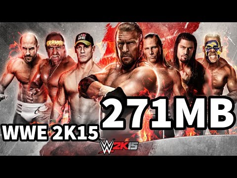 (271MB) How To Download & Install WWE 2K15 On PC Just In 271MB 100% Working 2018
