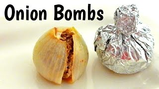 Onion Bombs Recipe - Inspire To Cook
