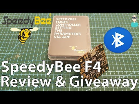 SpeedyBee F4 AIO Bluetooth Flight Controller - Overview & Giveaway