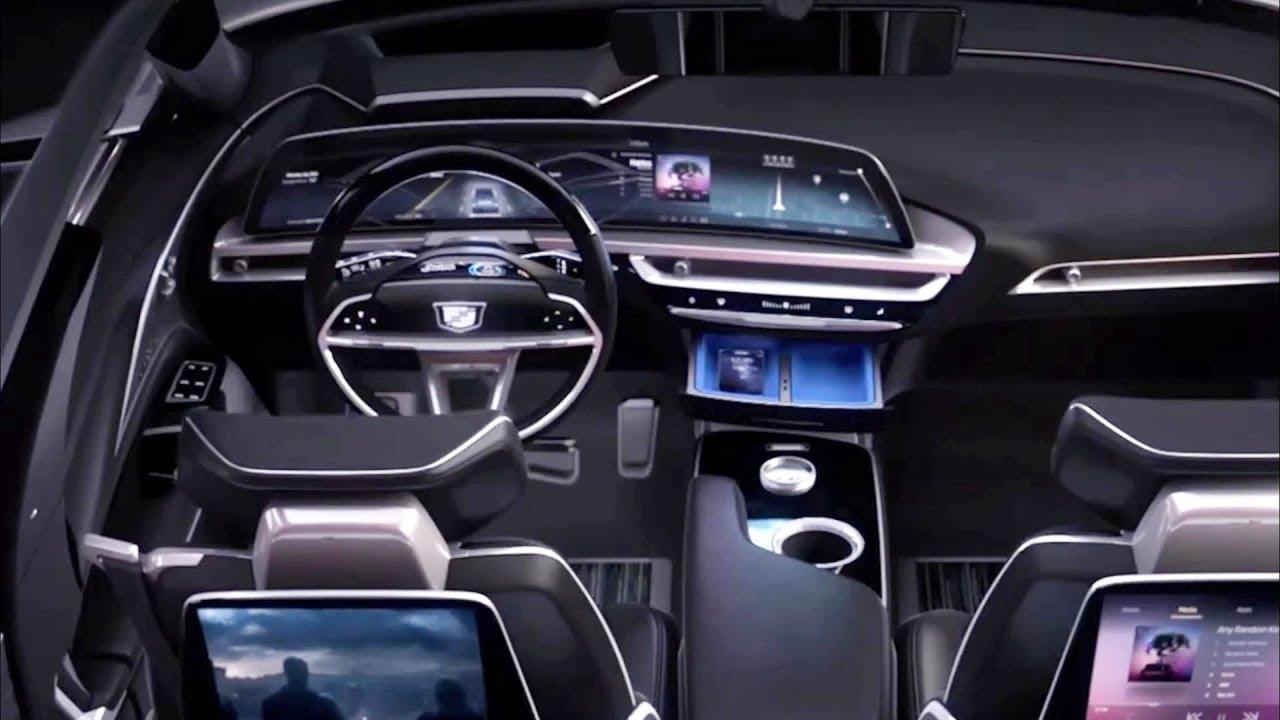 Cadillac lyriq interior (2023) cadillac lyriq ev interior, exterior reveal.