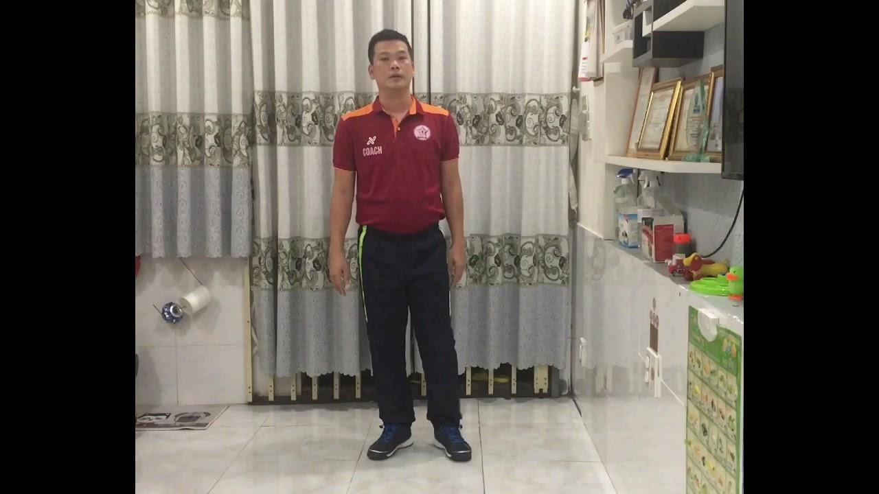 Download CHẠY TẠI CHỖ: BƯỚC NHỎ-NÂNG CAO ĐÙI- GÓT CHẠM MÔNG. Thầy Dương Hoàng Bi