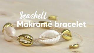 Panduro DIY Seashell Makramé Bracelet