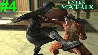 Enter The Matrix PS2 Gameplay #4 [Niobe The Vampire Slayer]