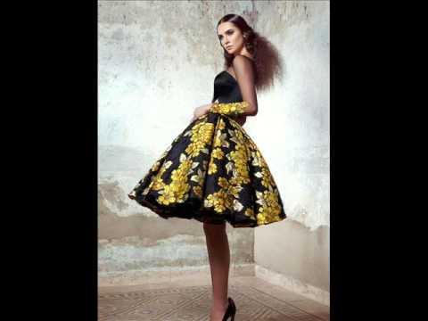 97b8564070686 شاهدي أحلى الفساتين من أحدث صيحات الموضة 2016 - YouTube