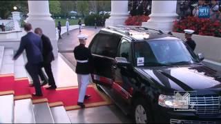 President Uhuru Kenyatta Arrives at the White House   8-5-2014