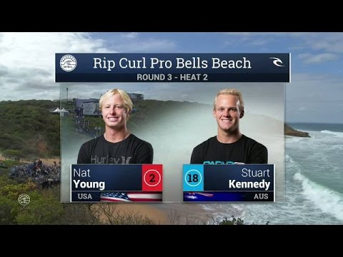 2016 Rip Curl Pro Bells Beach: Round 3, Heat 2 Video