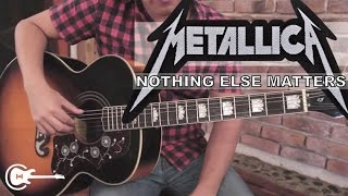 "Como tocar ""Nothing Else Matters"" de Metallica - Tutorial Guitarra + TAB (HD)"