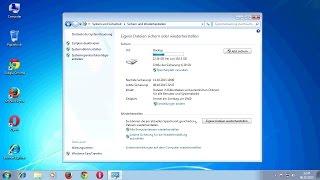 Sichern und Wiederherstellen von Windows 7 (Versteckte Partition B)
