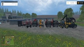finished mowing and started windrowing farm sim 15