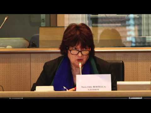 Creation of a European and an International Criminal Courts of Environment and Health (Full event)