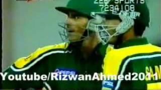 Abdul Razzaq 's Rain Of Sixes - Pak V Zim ( 6 sixes in Last 2 overs )