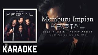 Karaoke Official | Kristal - Memburu Impian