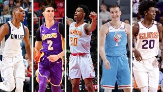 NBA 2nd Team All Rookie | Best Plays From Lonzo Ball, Dennis Smith Jr + More