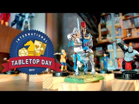 Board Games Come to Life! – International Tabletop Day 2017