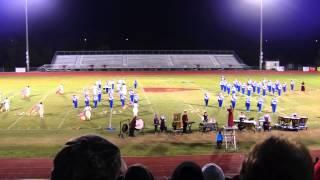 Forrest Rocket Band of Blue - 2014 State Finals