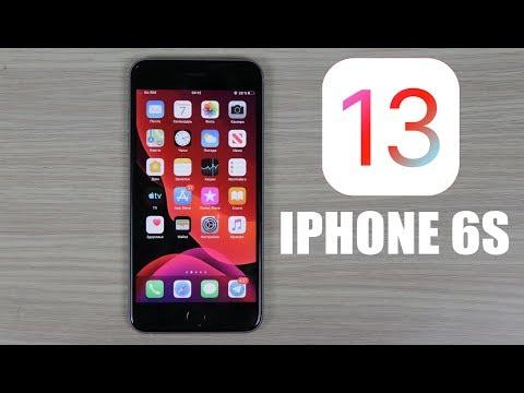 IOS 13 на IPhone 6s - Как работает? + установка