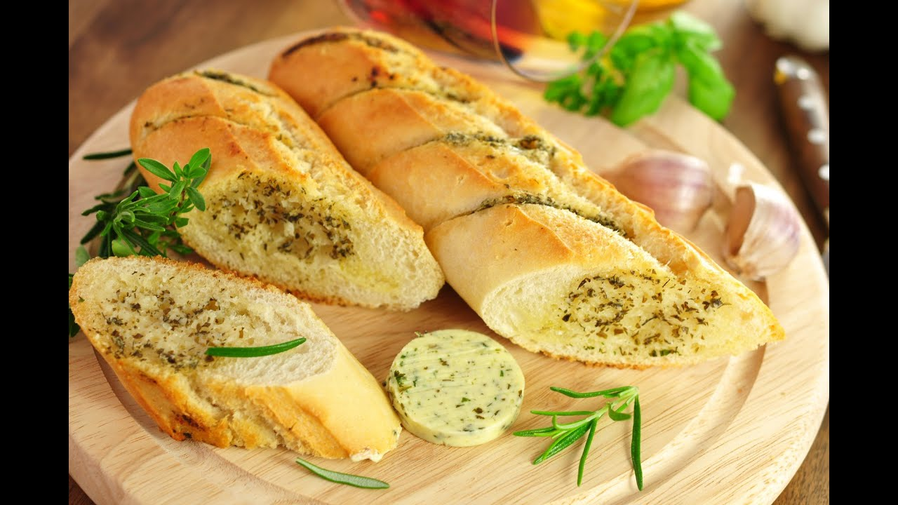 How To Make Garlic Bread - YouTube