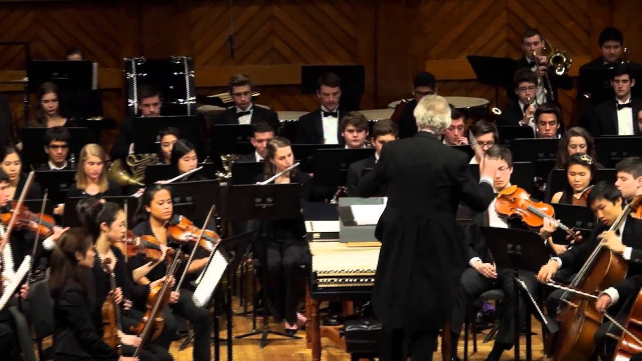 Boston Philharmonic Youth Orchestra: Schoenberg - Five Pieces for  Orchestra, Mvt  V The Obbligato