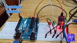 Tecnología Robótica 045 Detector de flama con Arduino