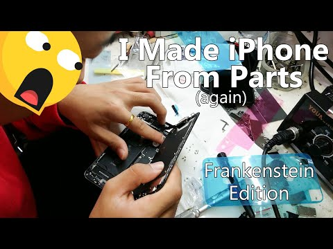 I Made IPhone From Parts In China📱😲😱(Again)