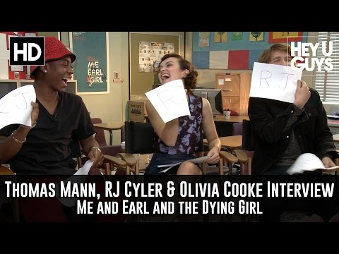 Thomas Mann, RJ Cyler & Olivia Cooke Interview - Me, Earl and the Dying Girl